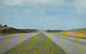 Oklahoma Tulse Scenic Drive Along Turner Turnpike Between Oklahoma City Tulsa