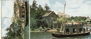 WALT DISNEY  , Florida , 50-60s ; Frontierland Booklet 8 Postcards , 1970s