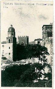07860 - CARTOLINA d'Epoca - FOGGIA: PIETRA MONTECORVINO