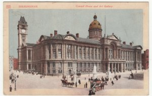 Birmingham; Council House & Art Gallery PPC, 1913 PMK To Jack Hall, Buxton
