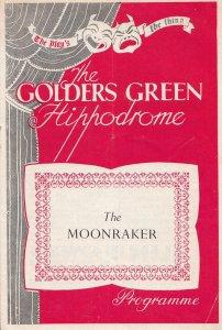 The Moonraker Drama Golders Green Theatre Programme
