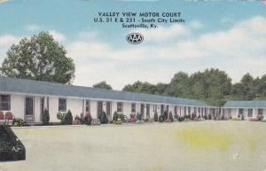 Valley View Motor Court, SCOTTSVILLE, Kentucky, 1930-1940s