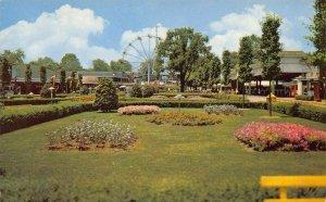 LPS17 CINCINNATI Ohio Coney Island Amusement Park Mall Ferris Wheel Postcard