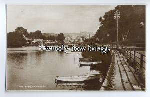 tp9104 - Devon - Early View Looking down the River from Knightsbridge - postcard