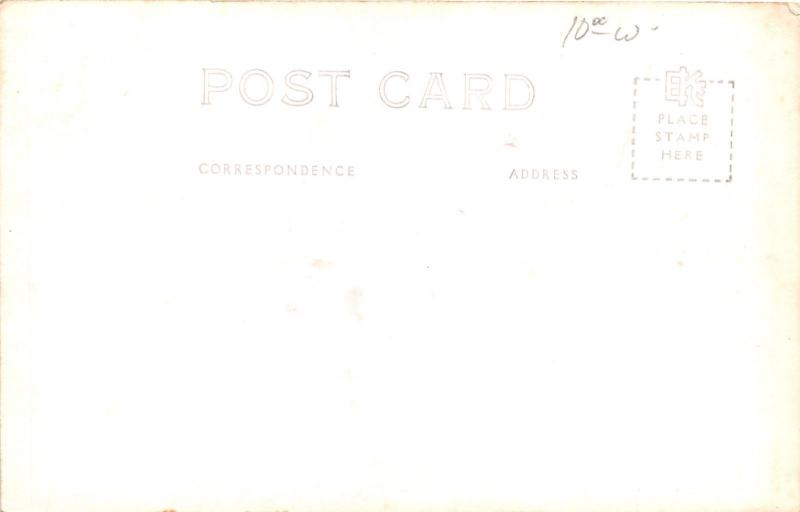 Ames Iowa~Iowa State College-University~Dairy Building~1940s RPPC Postcard
