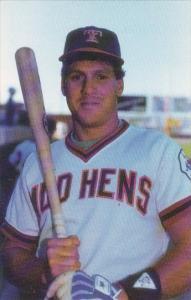 Baseball Toledo Mud Hens Geraldeo Jerry Lomastro