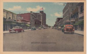 Montana Billings Broadway The Main Street Running North and South sk6836