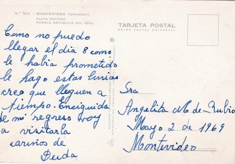 MONTEVIDEO, Uruguay 50-70s