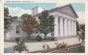 Virginia Arlington Curtis Lee Mansion 1925