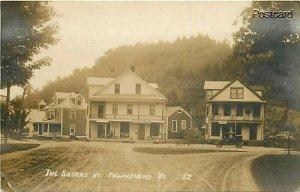 VT, Townshend, Vermont, The Square, No. 58, RPPC