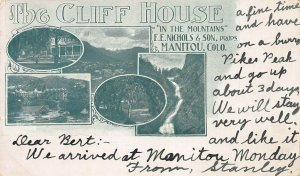 The Cliff House, Manitou, Colorado, Private Mailing Card, Used