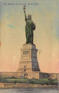 Statue of Liberty Post Card New York City, USA 1911