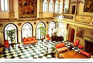 Florida Sarasota John and Mable Ringling Residence The Great Hall