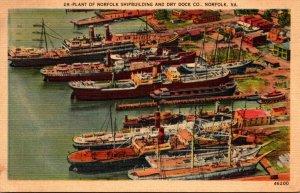 Virginia Norfolk Plant Of Norfolk Shipbuilding & Dry Dock Company 1946
