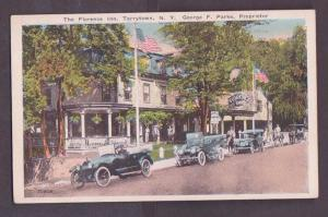 The Florence Inn, Tarrytown, NY - Unused - Old Cars + Horse & Buggy