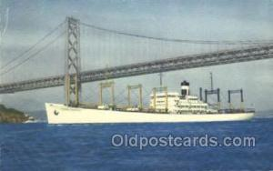 SS American Transport Ship Postcard Postcards  SS American Transport
