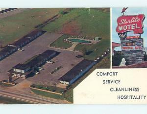 Pre-1980 STARLIGHT MOTEL Camden New Jersey NJ M1334
