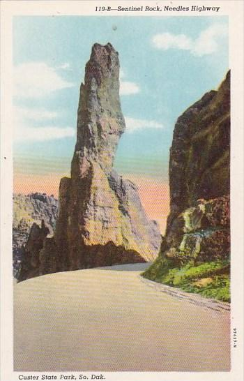 South Dakota Custer State Park Sentinel Rock Needles Highway