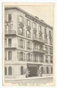 Hotel de Colmar, NICE, France 1910s