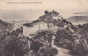 Hotel-Pension Annonciata, MENTON (Alpes Maritimes), France, 1900-1910s