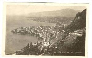 RP, Aerial, Vue Generale, Montreux (Vaud), Switzerland, 1920-1940s