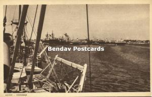 indonesia, JAVA SOERABAIA, Harbour Scene (1940s)