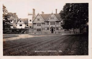 NORTHIAM E SUSSEX UK BRICKWALL HOUSE SCHOOL~FREWEN COLLEGE REAL PHOTO POSTCARD
