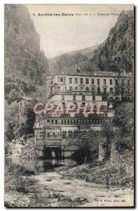 Old Postcard Amélie les Bains Spa Pujade