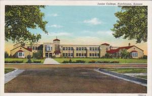 Kansas Hutchinson Junior College Curteich