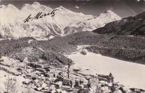 Switzerland St Moritz Real Photo