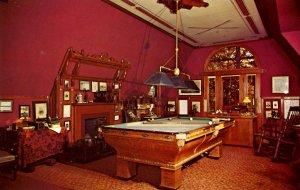 CT - Hartford. Mark Twain's House, Billiard Room
