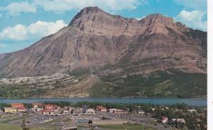 Scenic view,  Mount Vimy,  Waterton National Park,  Alberta,  Canada,  40-60s