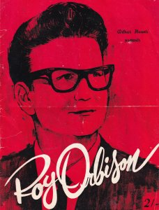 The Roy Orbison Show Vintage Marianne Faithfull Cliff Richard Concert Programme