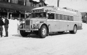 Pacific Greyhound Lines # 214 Tahoe city, California, USA Bus Unused