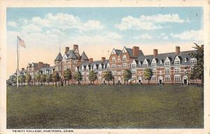 Hartford Connecticut~Trinity College~1920s Postcard