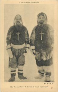 Aux Glaces Polaires Polar Arctic catholic missions Mgr Turquetil et P. Girard