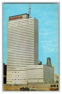 1958 The Prudential Building Chicago Illinois Vintage Standard View Postcard