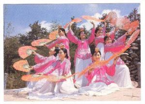 Fan Dance , Korea , 50-70s