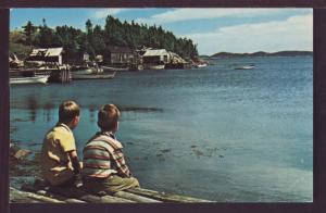 Little Burnt Bay Newfoundland Canada Postcard 3539
