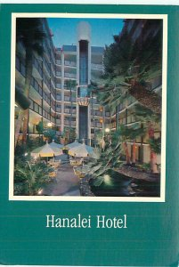 Buy San Diego Postcards Hanalei Atlas Hotel San Diego California Night Scene