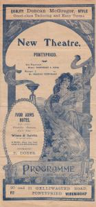Pontypridd Story Of The Rosary Welsh Religious Victorian Theatre Programme