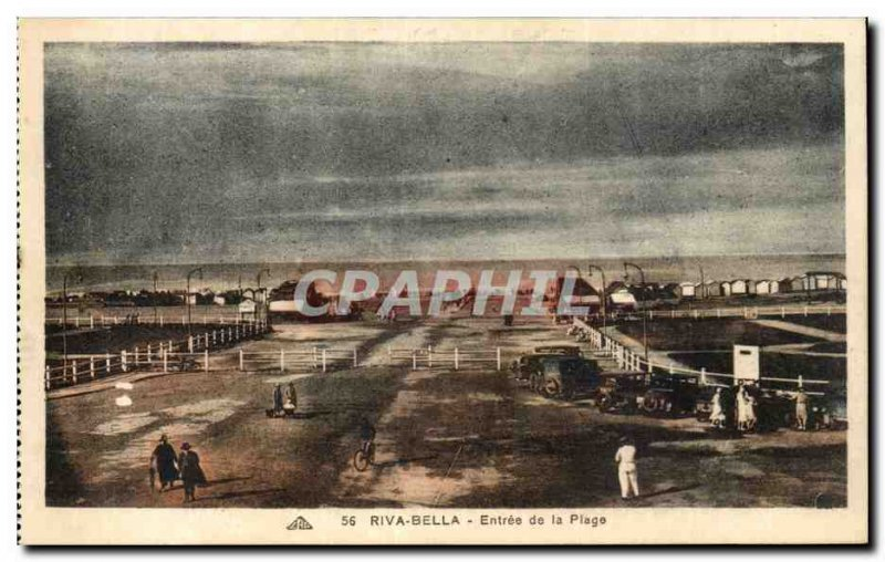 Postcard Old Riva Bella Entree Beach