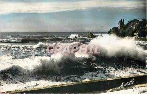 Modern Postcard Biarritz Wave Equinox
