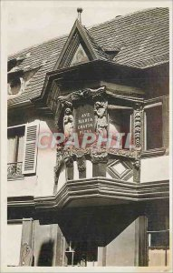 Postcard Old House Ribeauville Pfifferhues Menetriers