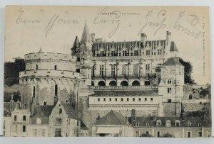 France AMBOISE Le Chateau Postcard Q1