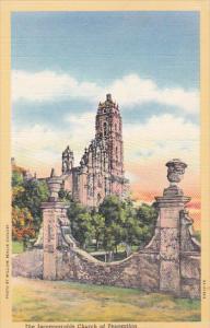 The Incomparable Church of Tepozotlan, Mexico, 30-40s