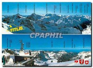 Postcard Modern Switzerland Engelberg Titlis