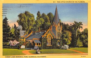 The Little Church of the Flowers Forest Lawn Memorial Park Glendale CA