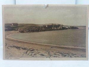 Vintage Postcard Crabby Bay Alderney Channel Islands Unposted