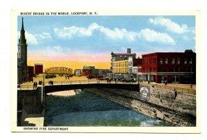 NY - Lockport. Widest Bridge in the World